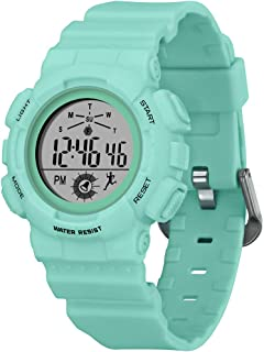 Digital Watch for Women, Small Dial Wrist Watch Women's and Girls' Multi-Functions Sports Watch