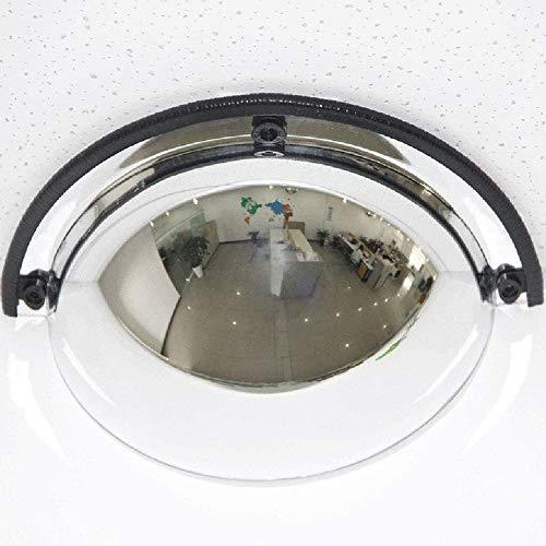 Espejo de Tráfico El tráfico exterior gran angular, Tráfico espejo panorámico media bóveda del espejo convexo, de 180 grados Ángulo de visión, 1/4 esférico Espejo, espejo de seguridad acrílico, conven