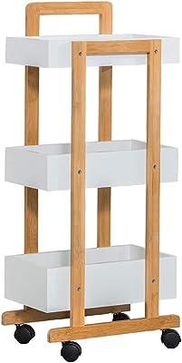 Amazon.com: Carritos de servicio de 4 pisos de ...