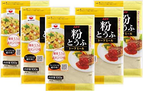 みすず 粉とうふ トーフミール 100g × 5袋 (たっぷり500g) ダイエットや減量にも!  (おからパウダー)