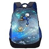 OKJK Mochila escolar unisex Frozen anime Mochila impresa en 3D Mochila casual niño niña mochila escolar adolescente (45x30x15cm) Mochila deportiva