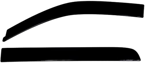 Auto Ventshade 894010 Low Profile Dark Smoke Ventvisor Side Window Deflector, 4-Piece Set for 2004-2008 Ford F-150 SuperCrew