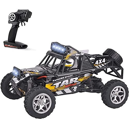 YAMMY 2.4G Radio Drift RC Vehículo Recargable Juguete para niños 1/12 Grande Off-Road Control Remoto Coche de Juguete Todo Terreno Rock Cli (Coche RC Inteligente)