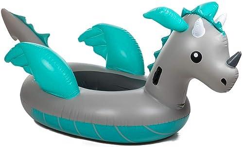 LICCC Aufblasbare Schwimmende Reihenhalterung Schwimmring Schwimmring Wasserspielzeug - Mit Griff