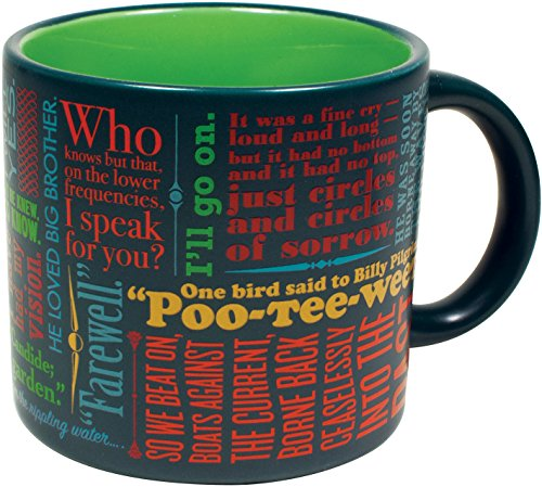 Last Lines of Literature Coffee Mug - The Most Famous Last Lines of Literature - From The Lord of the Rings to Moby Dick - Comes in a Fun Gift Box