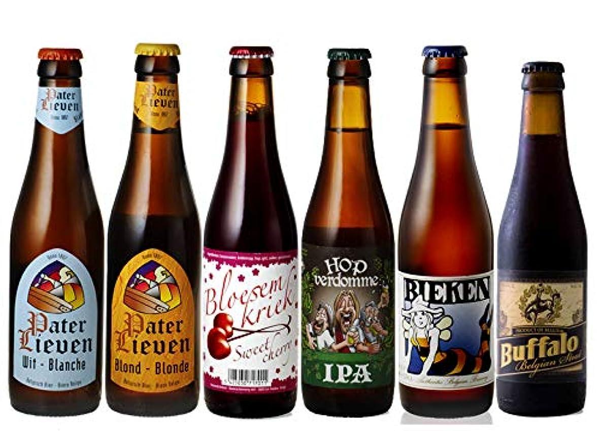 収縮衛星ほこりお中元 ビール ギフト お試しベルギービール 飲み比べ 6本セット