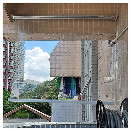 GZHENH Cortinas Transparentes para Ventanas/Puertas Persianas Enrollables Al Aire Libre Resistentes Impermeables De Los Gazebos para La Piscina De La Cochera del Jardín, Personalizable