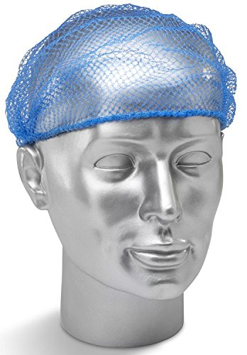 Einweg Haarnetz blau x48