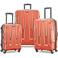 3-Piece Samsonite Centric Hardside Expandable Luggage with Spinner Wheels (Burnt Orange)
