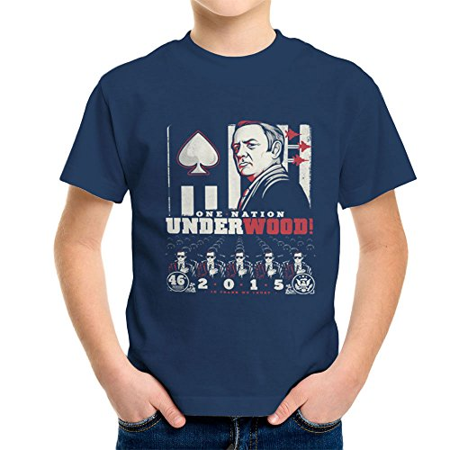 One Nation Underwood House Of Cards Kid's T-Shirt