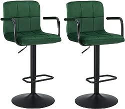 Best green velvet high back chair Reviews