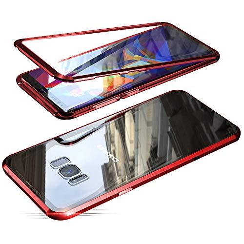 Jonwelsy Funda para Samsung Galaxy S8, Adsorción Magnética