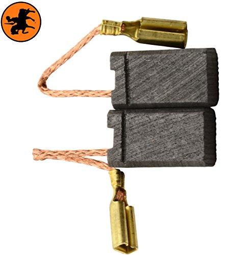 Escobillas de Carbón para PROTOOL 763712 -- 5x8x14mm -- 2.0x3.1x5.5''