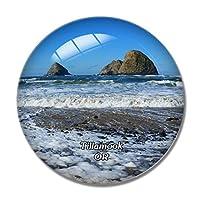 ティラムックロックスビーチオレゴン米国冷蔵庫マグネットホワイトボードマグネットオフィスキッチンデコレーション