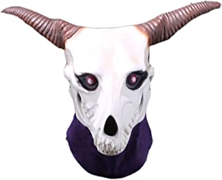 Magus Cosplay Mask Elias Skull Latex Head Mask Headgear