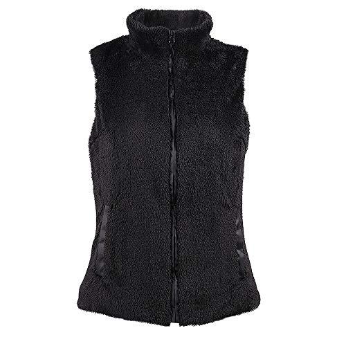 Chenang Einfarbiger Kragenkragenmantel Baumwoll-Daunenjacke Plus Samtweste Jacke Strickjacke Jacken Mantel Outwear Mantel Frauen Strickjacke Trenchcoat Outwear