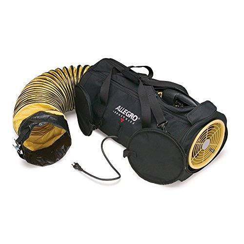 "Allegro Industries 9535-08 Air Bag 8, 8"" Blower with 15' Ducting"