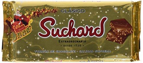 Suchard - Turrón de Chocolate Crujiente, 260 g - [Pack de 4]