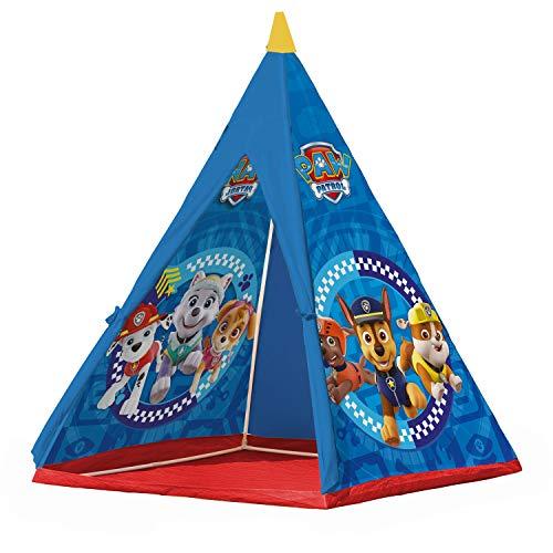 John 71107 - Tienda de campaña para niños, diseño de la Patrulla Canina con Chase, Zuma y Rubble
