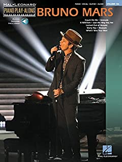Bruno Mars: Piano Play-Along Volume 126 (Hal Leonard Piano Play-Along)