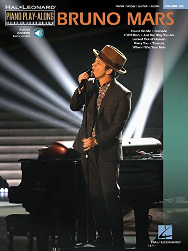 Piano Play-Along Vol.126 Bruno Mars + Cd