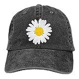Daisy Petal Baseball Cap Chrysanthemum Flowers Cowboy Hat Men Women Baseball Cap Vintage Washed Funny