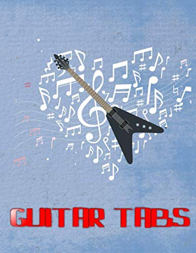 Ultimate Guitar Tab Treasure Chest: Guitar Tabs Chords Glossy Cover Design Cream Paper Sheet Size 8.5 X 11 Inches ~ Tab - Easy # Authentic 112 Page Good Prints.