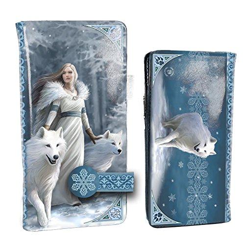 Nemesis Now Winter Guardians Anne Stokes Sac à Main en Relief Bleu PU 18,5 cm