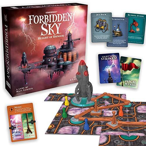 Gamewright Forbidden Sky Game, Multicolor alfonbrilla para ratón , color/modelo surtido
