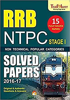 RRB NTPC PREVIOUS YEARS SOLVED PAPERS (STAGE-1): Railway Recruitment board by [Unicorn Books Editorial Board]