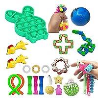 感覚のおもちゃセット、子供と大人のためのフィジットのおもちゃのセット、ストレスの特別な必要性を安心して、玩具玩具、自閉症のおもちゃ (Color : D)