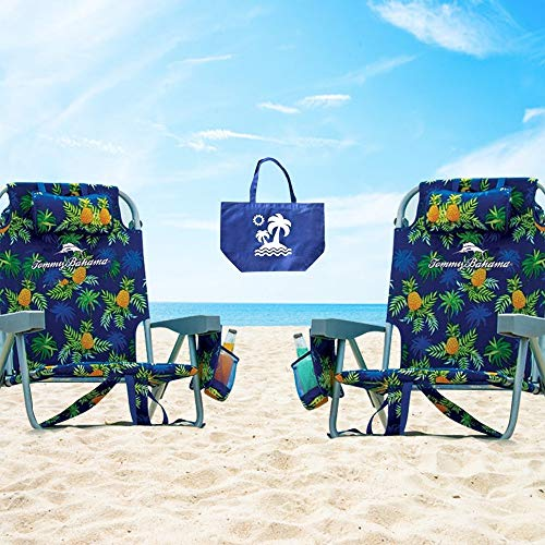 2 Tommy Bahama Backpack Beach Chairs