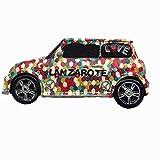 Imán 3D para nevera con forma de coche Lanzarote España, recuerdo de viaje para el hogar, cocina, frigorífico, decoración magnética