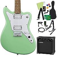 GrassRoots G-TK-STD Seafoam Green エレキギター初心者14点セット 【ヤマハアンプ付き】 グラスルーツ