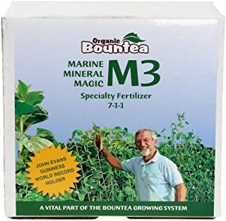 Organic Bountea 739714 Bountea Marine Mineral Magic M3 5 lb Nutrient, Grey