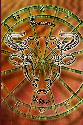 """Toro """"Taurus"""": Taccuino del segno zodiacale. Quaderno a righe di 150 pagine, ideale come diario, quaderno dei sogni, astrologia, tema astrale ... Copertina morbida"""