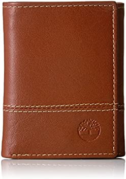 Timberland Buff Cloudy Leather Trifold Security Men's Wallet
