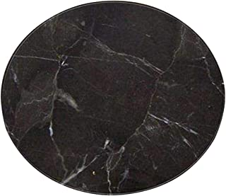 Amaae® Fashion Marble Pattern Round Flannel Bathroom Kitchen Carpet 60cm(Color: MultiColorful ; Material:Polyester)