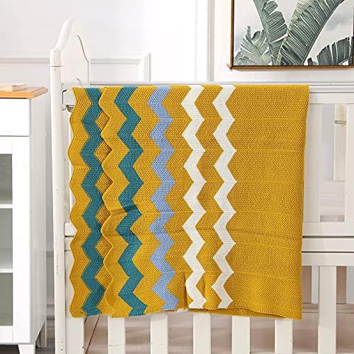 Qucover Mantas para Bebés 76 x 102 cm Manta para recién Nacidos Mantitas para Bebes Suave y Confortable Multifunción Ideal como Colcha para el Cochecito Apta como Alfombra de Juegos