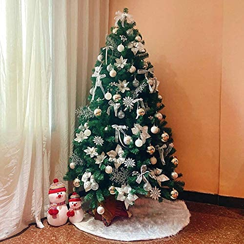 DYB Christmas Tree, Eco-friendly PVC Artificial Xmas Tree Decorated With Ornaments,hinged Spruce Christmas Pine Tree Encrypted Full Branches For Indoor Outdoor