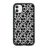 Cow Phone Case Compatible with iPhone 11 6.1 Inch - Shockproof Protective TPU Aluminum Cute Cool Cow Print Phone Case Designed for iPhone 11 Case for Boys Girls Teens Women Men Moo Moo
