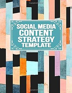 Social Media Content Strategy Template: Marketing Metrics KPI Tracker | Social Media Followers  | Marketing Goals  | To Do List  | Marketing Calendar  | Advertising Planner
