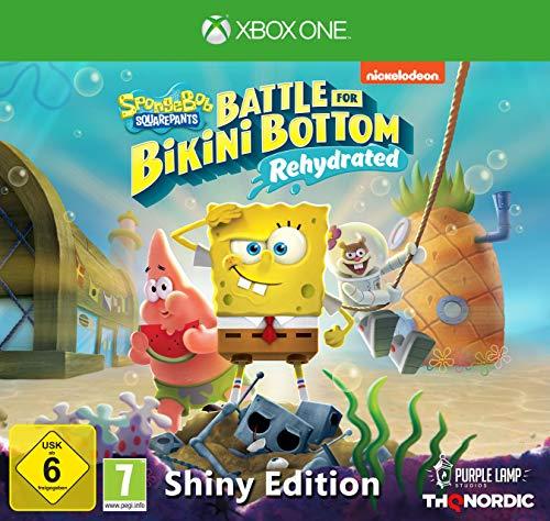 Spongebob SquarePants: Battle for Bikini Bottom Rehydrated - Edición Shiny (Xbox One)
