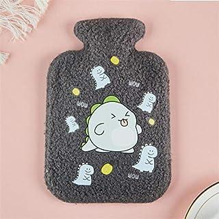 Cute Hot Water Bottle Portable Teddy Cashmere Plush Cold-Proof Fleece Bag for Women Hand Warm Water Bottle Safe Explos. De...