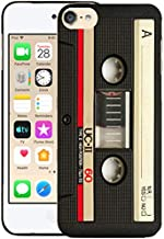 Glisten iPod Touch 7th / 6th / 5th Generation Case - Vintage Cassette Design Printed Sleek, Slim Fit & Cute Plastic Hard Snap on Designer Back Case for iPod Touch 7th / 6th / 5th Gen.