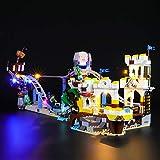 BRIKSMAX Kit de Iluminación Led para Lego Creator Montaña Rusa Pirata,Compatible con Ladrillos de Construcción Lego Modelo 31084, Juego de Legos no Incluido