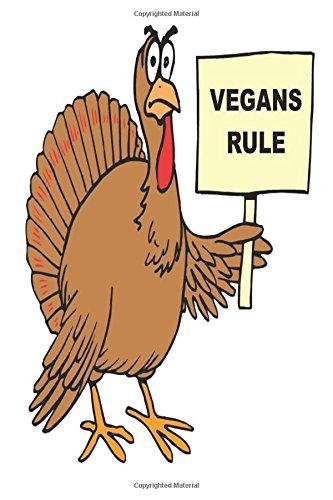 Vegan Journal Funny Turkey Humor Vegan Food Jokes: (Notebook, Diary,...