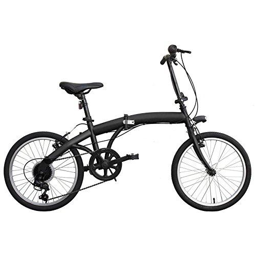 B4C 1551223 - Bicicleta Plegable I-Fold, Acero, 65 x 85 x 45 cm, 13 kg
