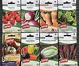 Lot de 8 sachets de graines- variétés originales-Sanrival