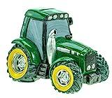 Udo Schmidt 88233 Spardose Traktor grün Deko...